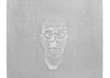 Chuck Close - Watermark Self-Portrait