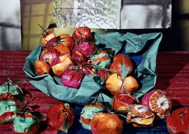 "work by Daniel Gordon - Clementines from ""Still Lifes, Portraits and Pa..."