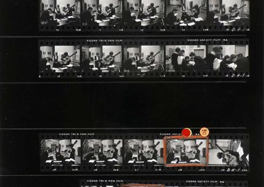 work by David Hurn - The Beatles in the Abbey Road Studios, where ma...