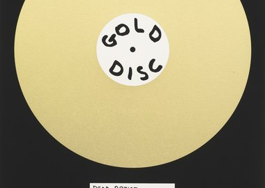 David Shrigley - Gold Disc