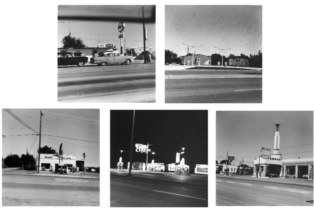 main work - Ed Ruscha, Five views from the Panhandle