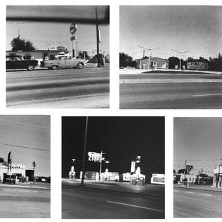 Ed Ruscha, Five views from the Panhandle