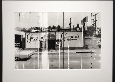 work by Ed Ruscha - Sunset Strip (Gazzarri's)