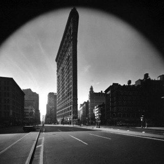 New York City. Flat Iron Building. 1969. art for sale