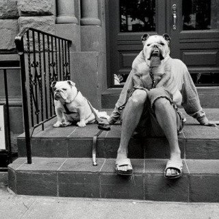 Elliott Erwitt, New York City. 2000.