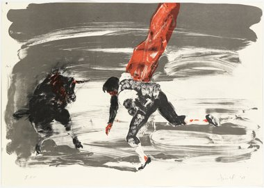 work by Eric Fischl - Without title 2