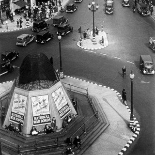 England. London. Picadilly Circus. 1940. art for sale