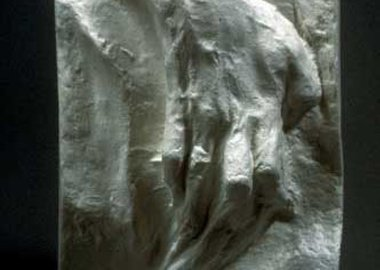 work by George Segal - Woman's Hand