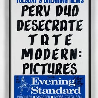 Perv Duo Desecrate Tate Modern: Pictures art for sale