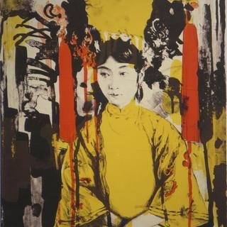 Untitled (empress yellow red) art for sale