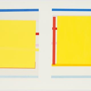 Imi Knoebel, Untitled #1 (Diptych)