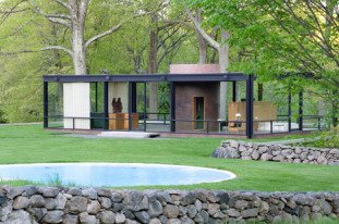 The Philip Johnson Glass House art gallery