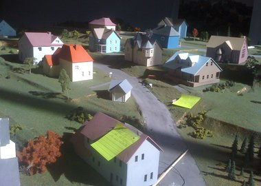James Casebere - Dutchess County Model Under-Construction