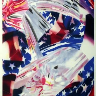 STARS AND STRIPES AT THE SPEED OF LIGHT art for sale