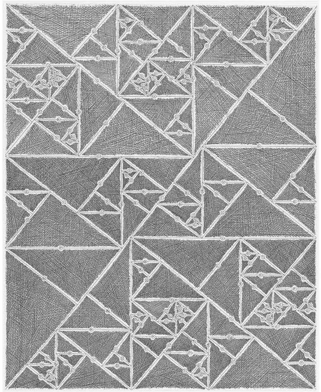 James Siena, Numbered Triangle Sequence