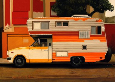 work by Jessica Hess - Citrus Camper