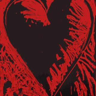 The Black and Red Heart art for sale