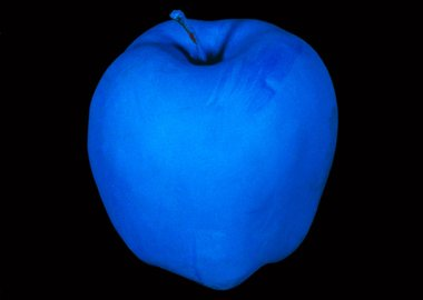 work by John Baldessari - Millenium Piece (with Blue Apple)