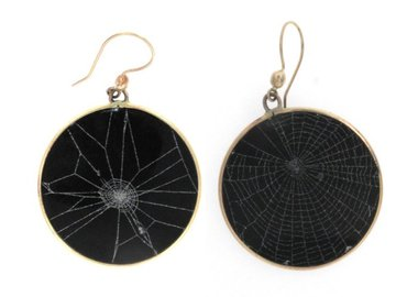 Judith Hudson - Spider Web Earrings