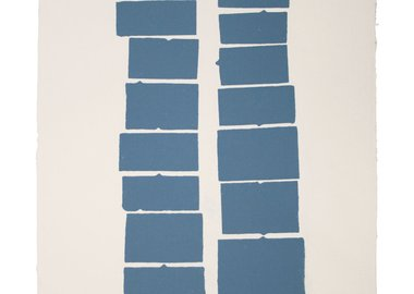 Kate Shepherd - Blue Tab Stacks (9, 8)