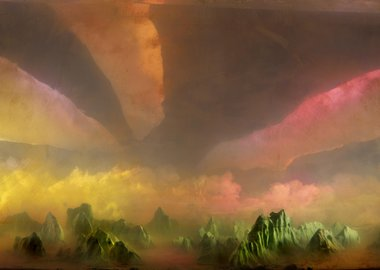 work by Kim Keever - West 180d