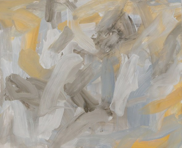 main work - Leah Durner, Untitled (pale grey yellow ochre)