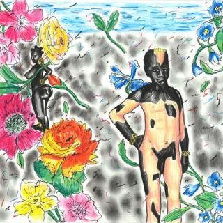 Untitled (Venus-Flower Spotted) art for sale