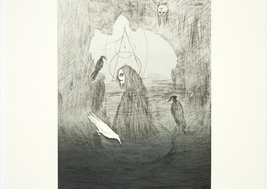 work by Leonora Carrington - Beasts: Cave