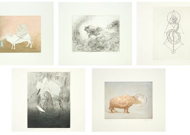 work by Leonora Carrington - Beasts Portfolio
