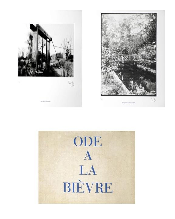 main work - Louise Bourgeois, Ode a la Bievre - limited edition