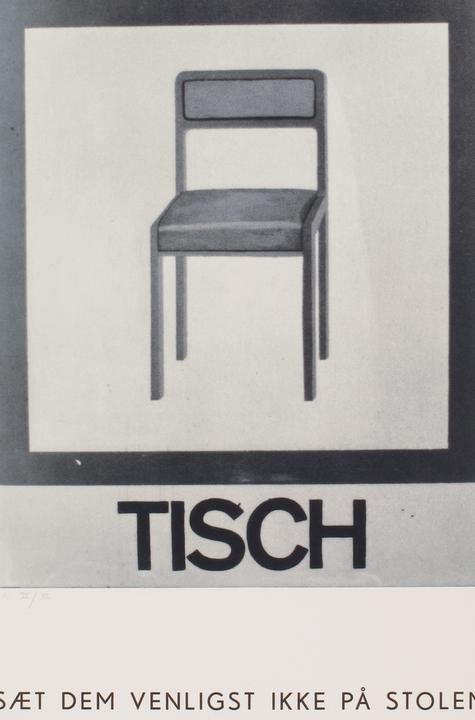 Martin Kippenberger, Tisch