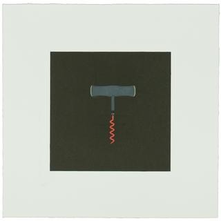 Michael Craig-Martin, The Catalan Suite I - Corkscrew