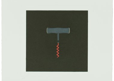 Michael Craig-Martin - The Catalan Suite I - Corkscrew