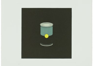 Michael Craig-Martin - The Catalan Suite I - Soup Can