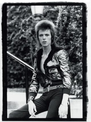 main work - Mick Rock, David Bowie-Beverly Hills, Los Angeles