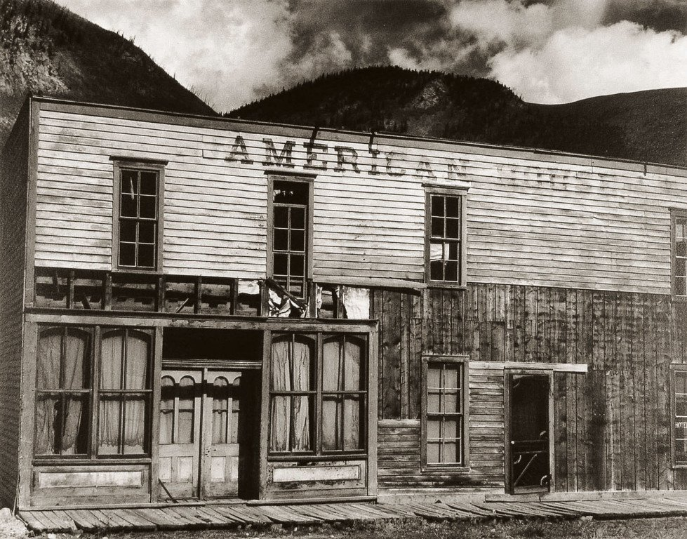 by paul_strand - American House, Ghost Town, Colorado, 1931