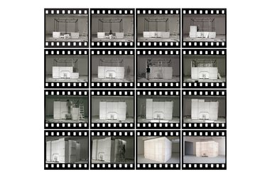 work by Rachel Whiteread - Installation of Ghost