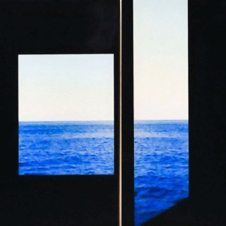 Rajorshi Ghosh, Studies in Framing #1 (Rooms by the Sea), Diptych
