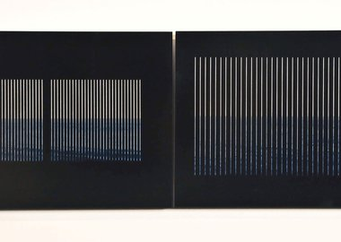 Rajorshi Ghosh - Studies in Framing #2 (Rooms by the Sea), Diptych