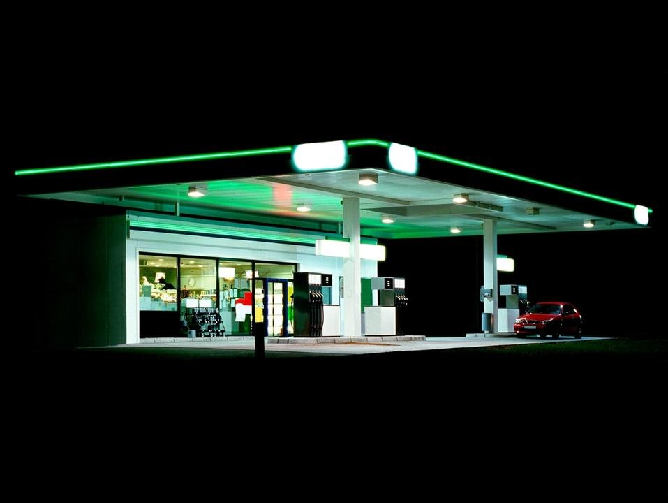 by ralf_peters - Petrol Station (green / black)