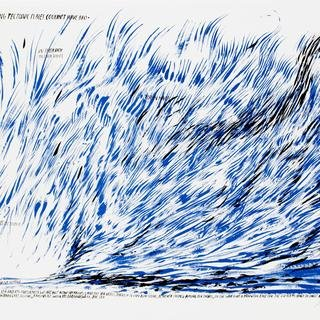 Raymond Pettibon, Untitled (A Sea of Grinding...)