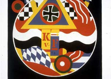work by Robert Indiana - Für K.v.F.