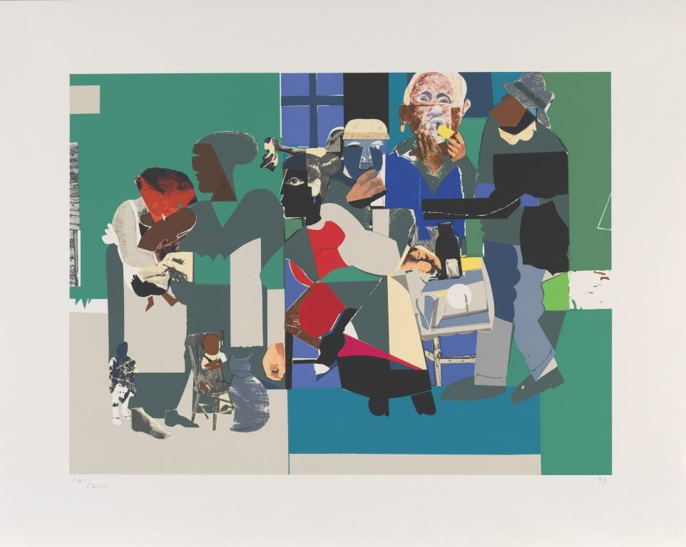 Romare Bearden Family Dinner For Sale Artspace - Romare-bearden-coloring-pages