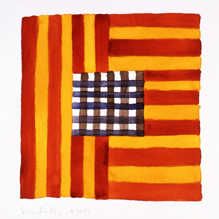 main work - Sean Scully, 4.10.87