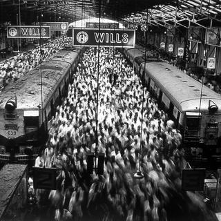 Churchgate Station, Bombay, from the series Migrations art for sale