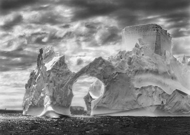 work by Sebastião Salgado - Fortress of Solitude, from the series Genesis