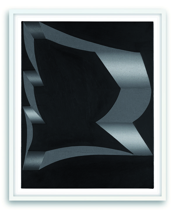 main work - Tomma Abts, Untitled (Uto)