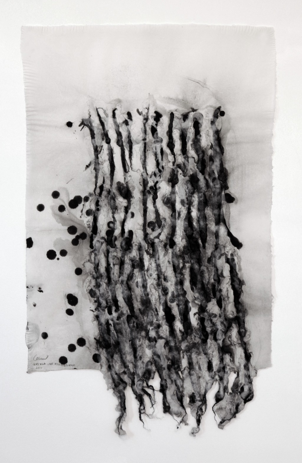 main work - Ursula Von Rydingsvard, Constellation