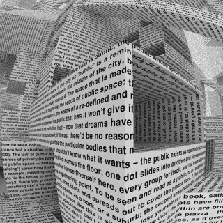 Vito Acconci, City of words