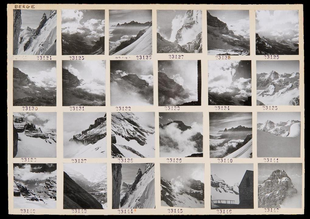 main work - Werner Bischof, Swiss Mountain Peaks